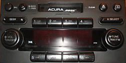 Acura  Cost on Cm3939 Acura Nsx Radio Casstte 1991 To 2005 Repair Cost   185 To   285