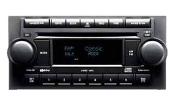 Chrysler radio cd player 05064171AH