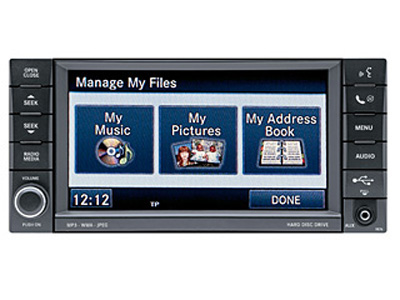 chrysler MY GIG CD DVD touch screen05064242AH