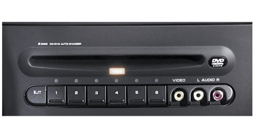 chrysler dvd changer