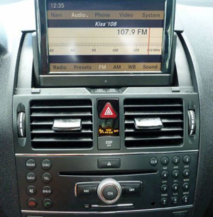 Mercedes C250 C280 C300 Navigation Display Repair