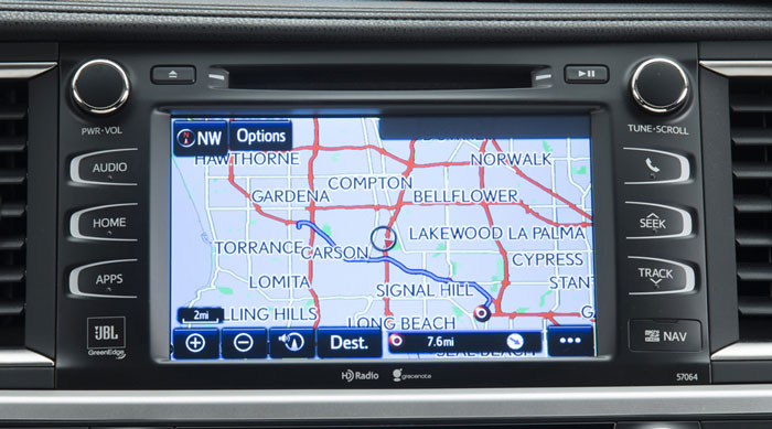 toyota highlander navigation 2014 2015 2016 toyota navigation stereo cd dvd changer repair  at soozxer.org