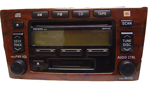 toyota avalon indash 6cd changer