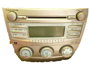 Toyota Camery in dash 6cd changer